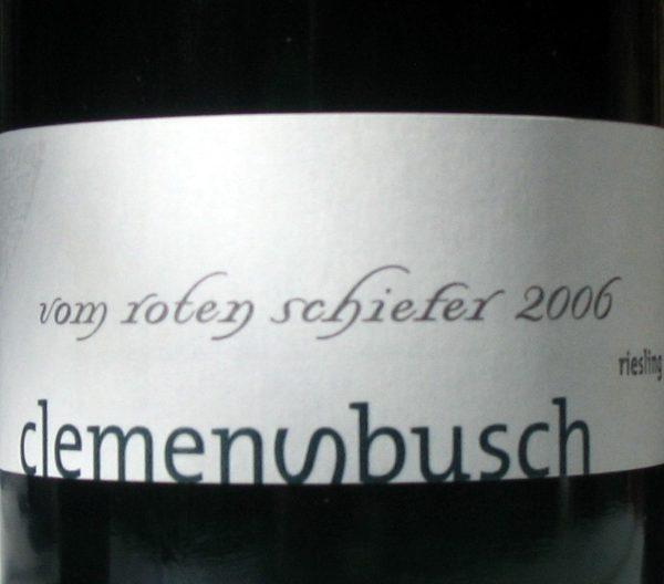 Riesling vom roten Schiefer Mosel Clemens Busch-0