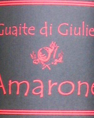 Amarone della Valpolicella Le Guaite di Giulietta Pizzighella-0