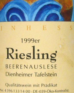 Riesling Beerenauslese Neumer -0
