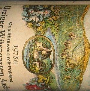 Ürziger Würzgarten Auslese 1975 Berres Mosel -0