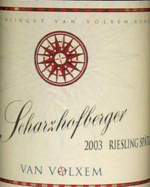 Riesling Scharzhofberger Spätlese Van Volxem-0