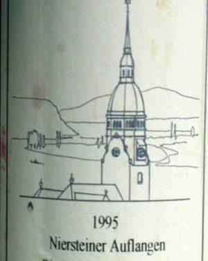 Niersteiner Auflangen Spätlese St Antony 1995-0