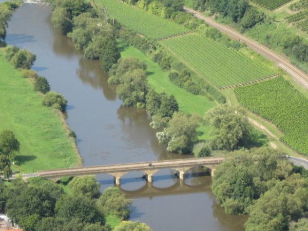 """Nahebrücke von """"Bayern"""" nach """"Preussen"""""""