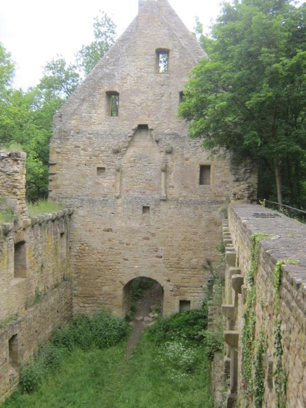Das Kloster Disibodenberg, verantwortlich für den ältesten Weinberg Deutschlands