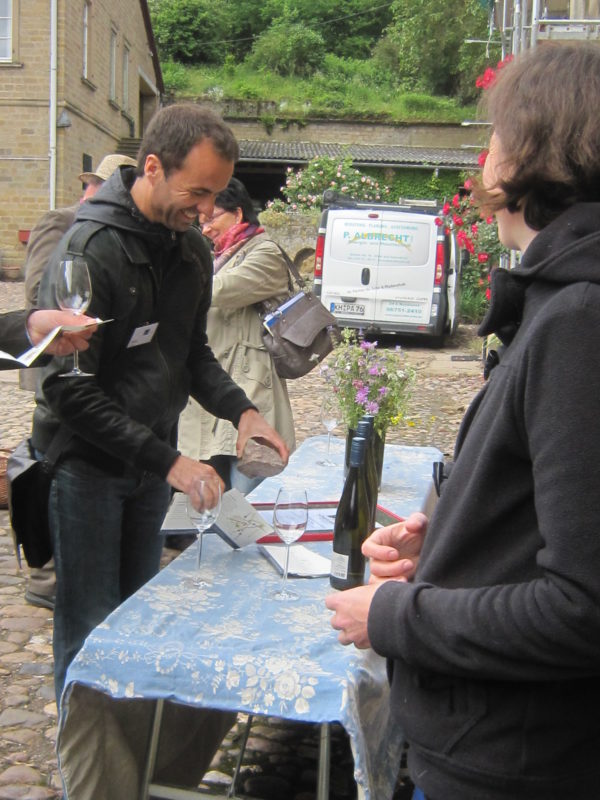 Weinverkostung non Racknitz
