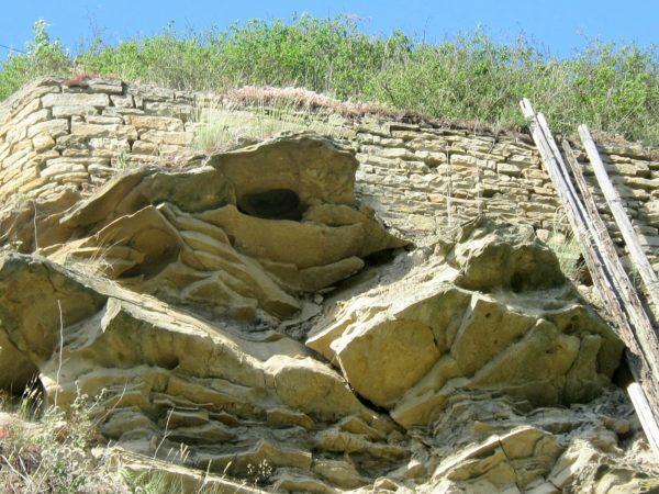 Disibodenberg: auf Stein gebaut !