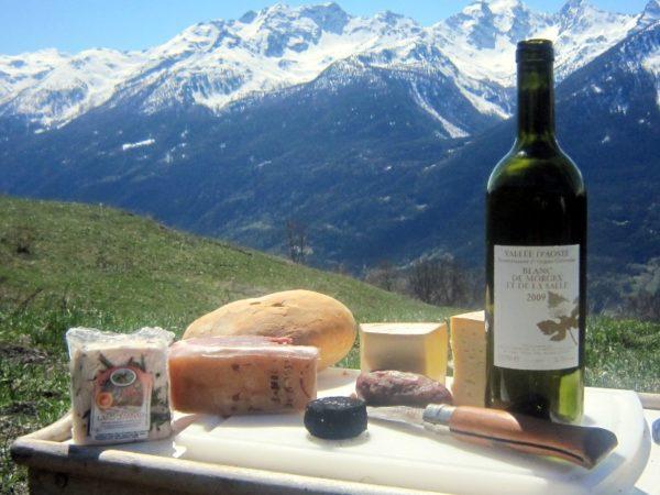 Blanc de Morgex: Weinbau unter dem Mont Blanc auf 900 Metern !