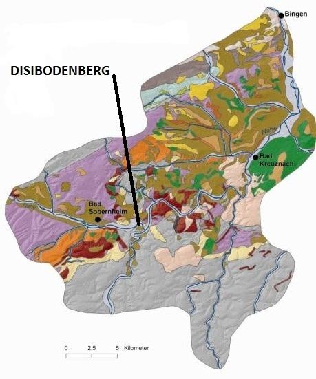 Disibodenberg geographische Lage