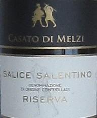 Salice Salentino Riserva Casato di Melzi-0